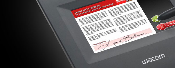 Signature Tablet